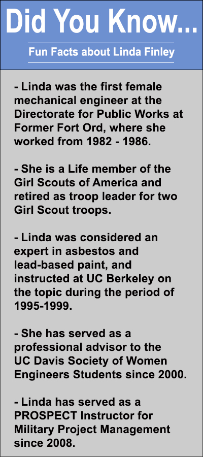 Did you know...about Linda Finley