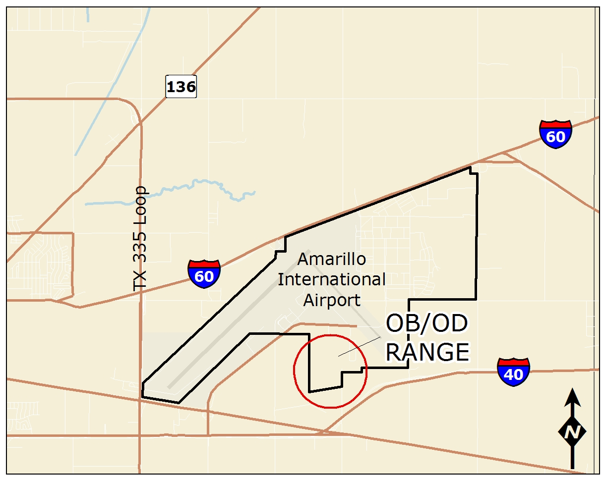 Former Amarillo Air Force Base, OB/OD Range