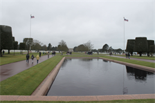 FRANCE — The Normandy American Cemetery and Memorial in Colleville-sur-Mer, France serves as the final resting place for more than nine thousand U.S. Soldiers who gave their life in World War II to protect freedom.