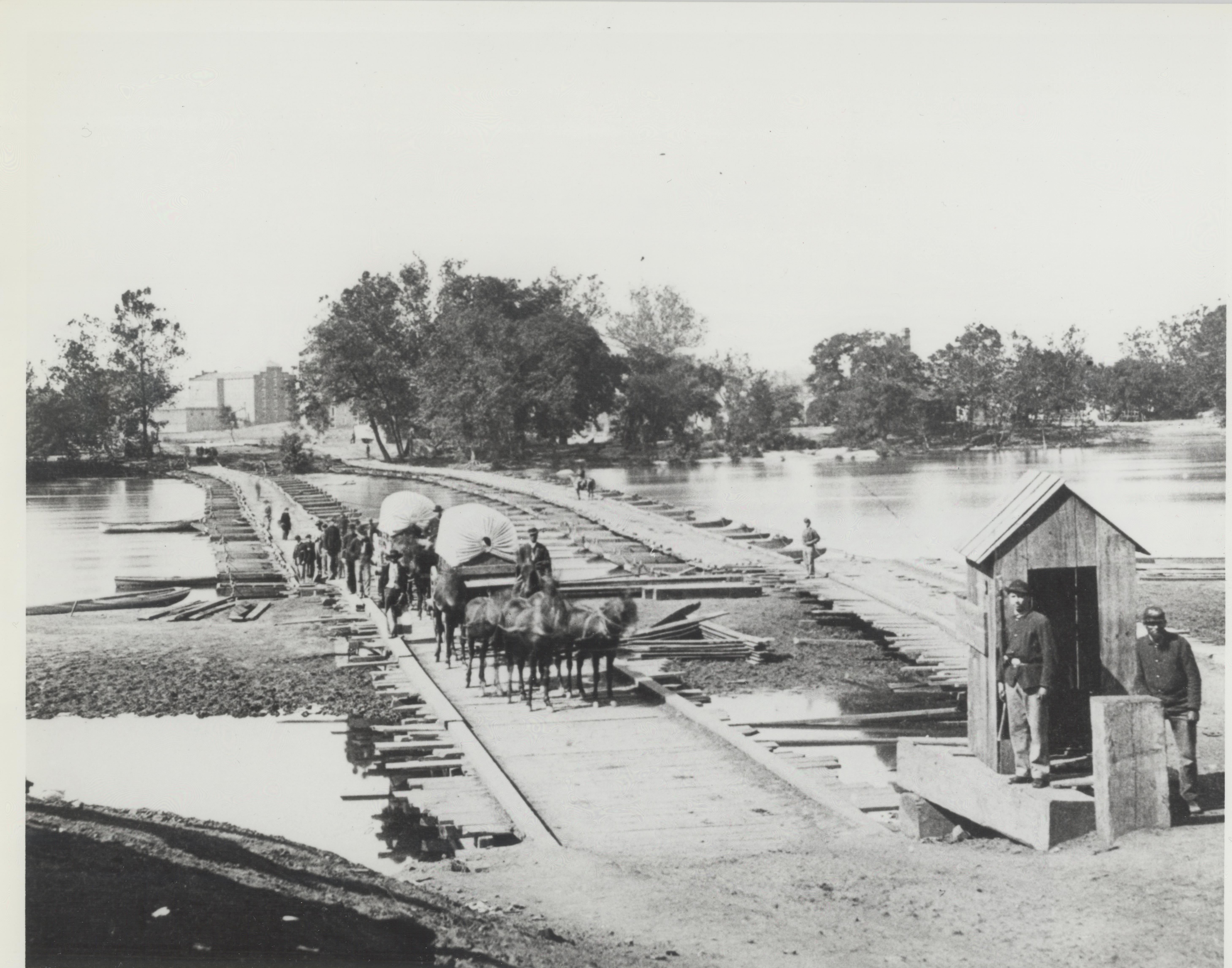 Ponton Bridge on the James