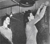 During World War II, women worked outside their homes and in non-traditional occupations in unprecedented numbers. Just over 2,000 women worked in Corps headquarters, then called the Office of the Chief of Engineers (OCE). Many women remained in clerical positions during World War II, but others moved into new areas.