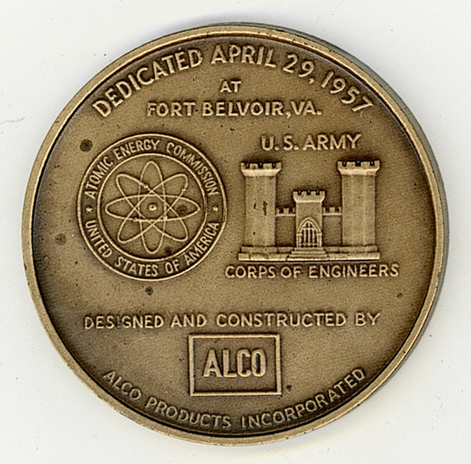 back side of commemorative coin