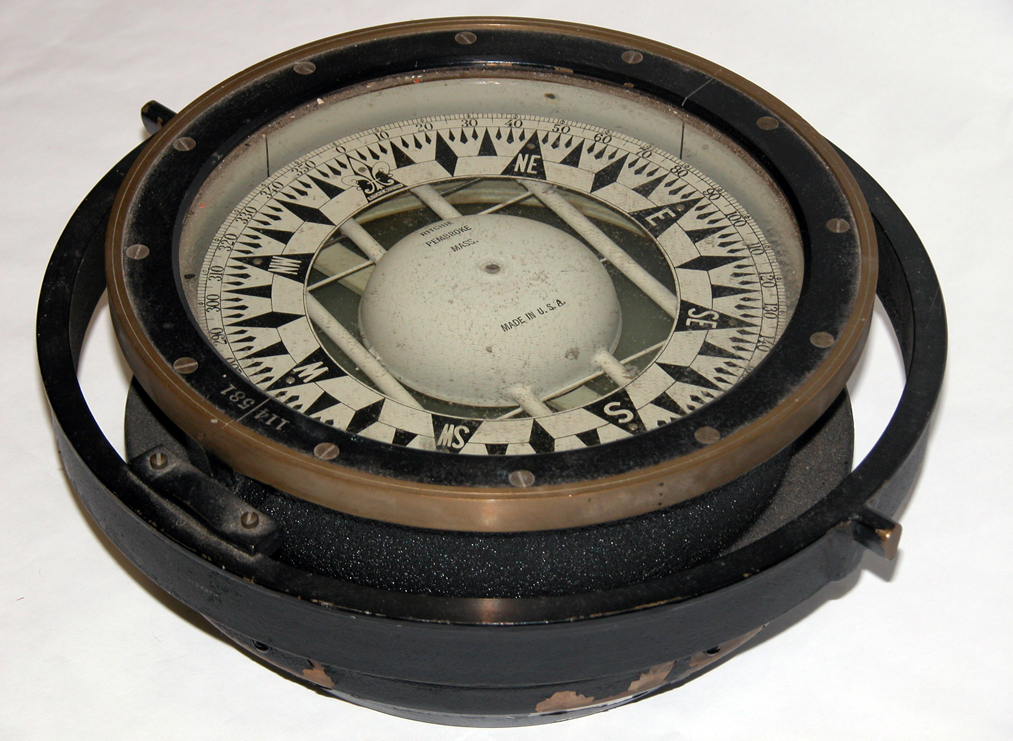 ship's compass from the Sturgis