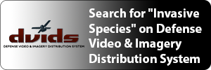Click to view the search results page for invasive species on the DVIDS Web site