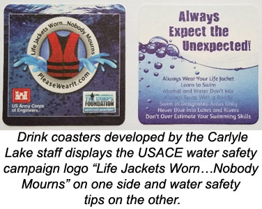 Life Jackets Worn…Nobody Mourns drink Coasters