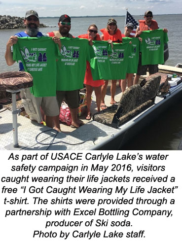 """I Got Caught Wearing My Life Jacket"" T-Shirt"
