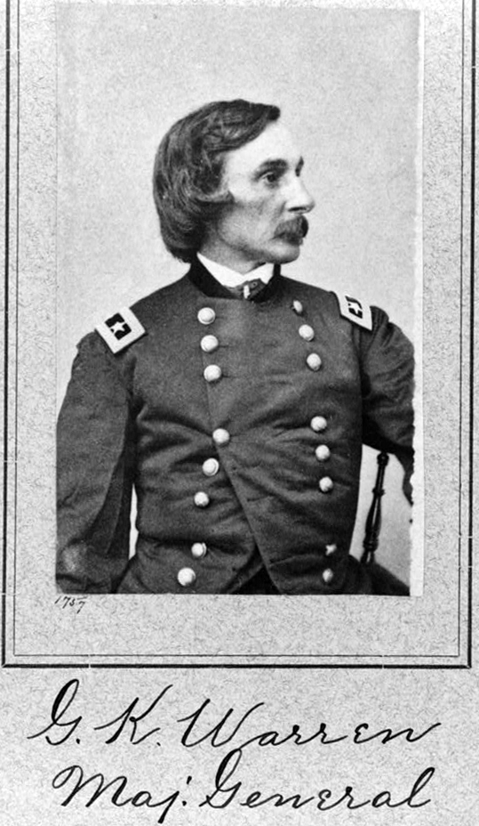 Carte de visite (CDV) of Major General Gouverneur K. Warren